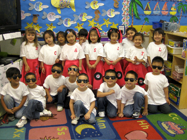 PreK Students in Costume